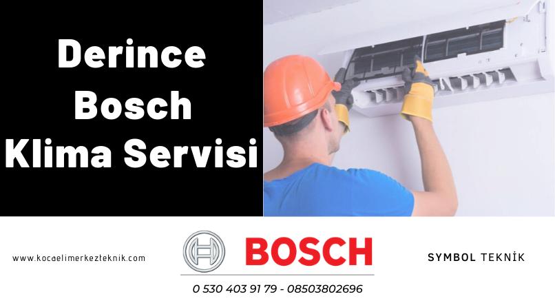 Derince Bosch klima servisi