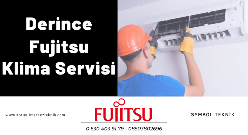 Derince Fujitsu klima teknik servisi