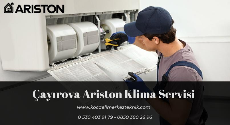 Çayırova Ariston klima servisi