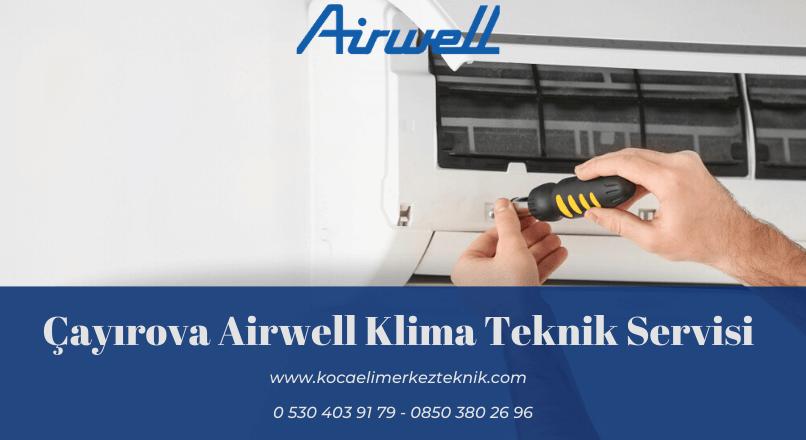 Çayırova Airwell klima servisi