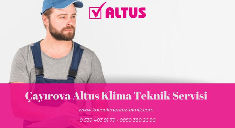 Çayırova Altus klima servisi