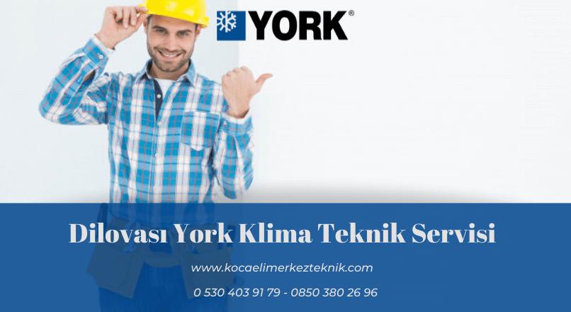 Dilovası York klima servisi