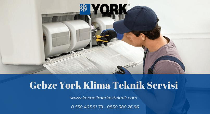 Gebze York klima servisi