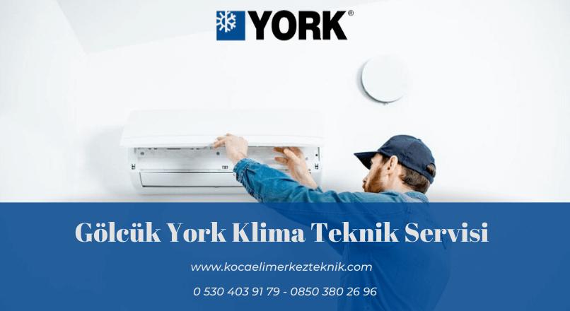 Gölcük York klima servisi