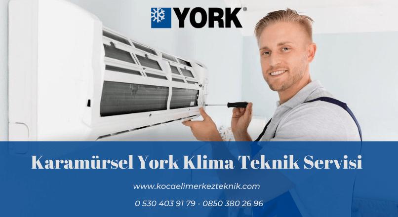 Karamürsel York klima servisi