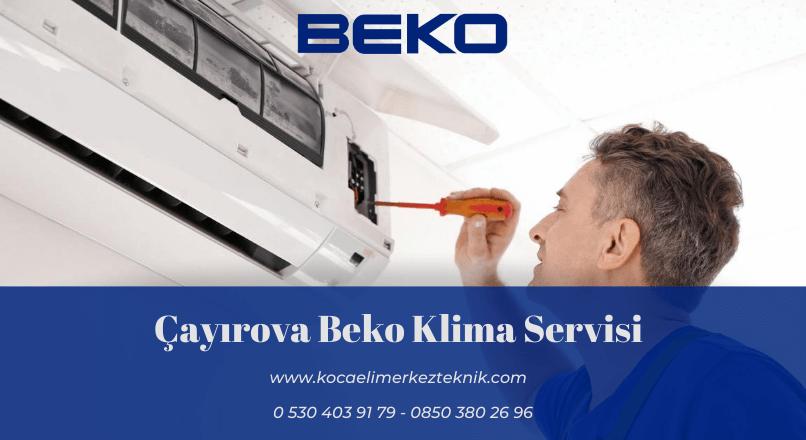 Çayırova Beko klima servisi