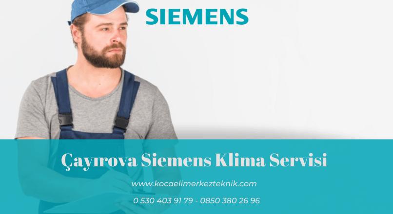 Çayırova Siemens klima servisi
