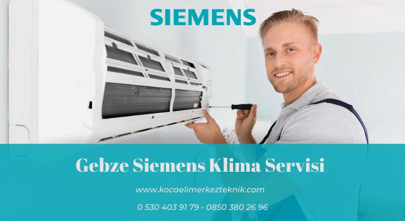 Gebze Siemens klima servisi