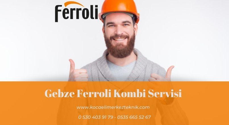 Gebze Ferroli kombi servisi
